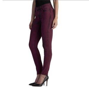 Rock & Republic Red Wine Skinny Jean Womens Size 2